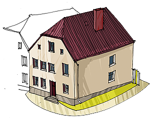 Budynek mieszkalny przy ul. Saperów 19