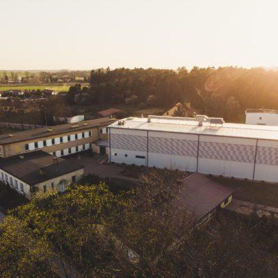 Hala sportowa w Bobrówku