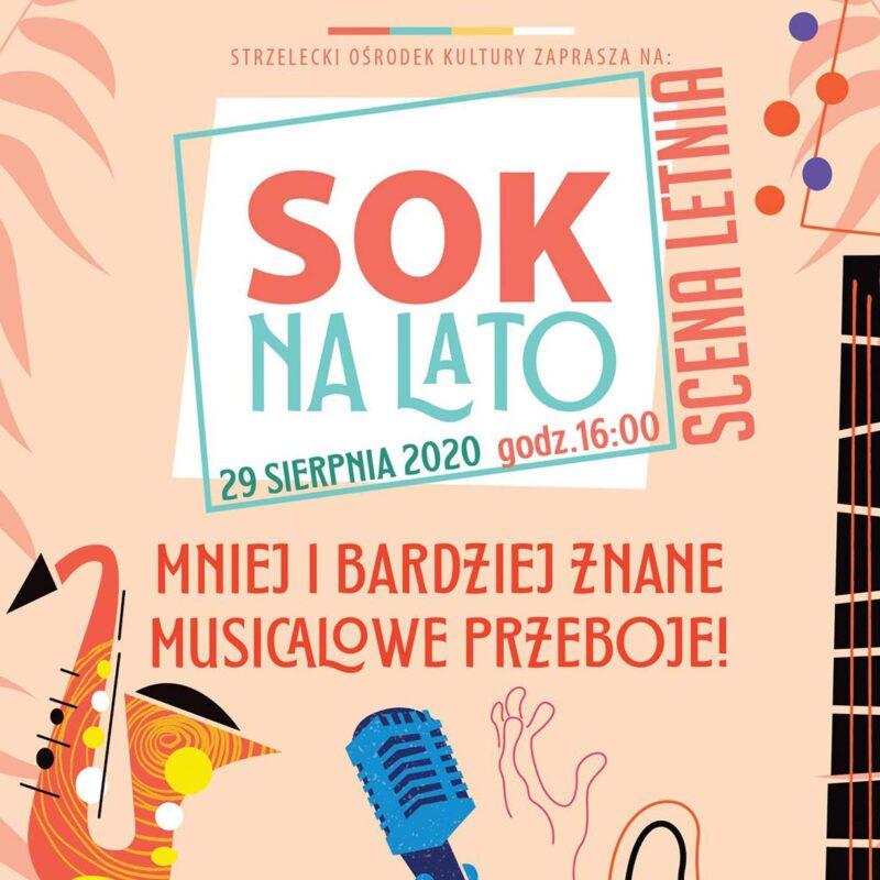 Koncert na skwerze przy Baszcie Czarownic