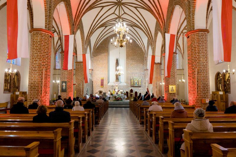 Msza w intencji ojczyzny w Kościele Matki Bożej Różańcowej