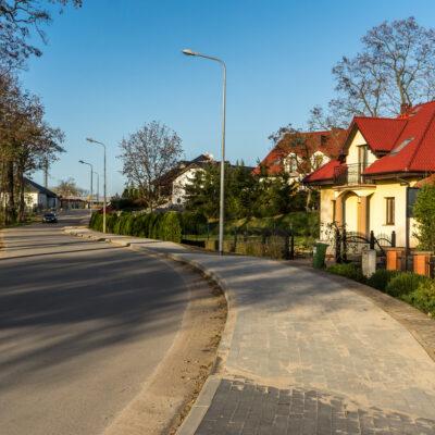 Nowy chodnik przy ul. Orzechowej