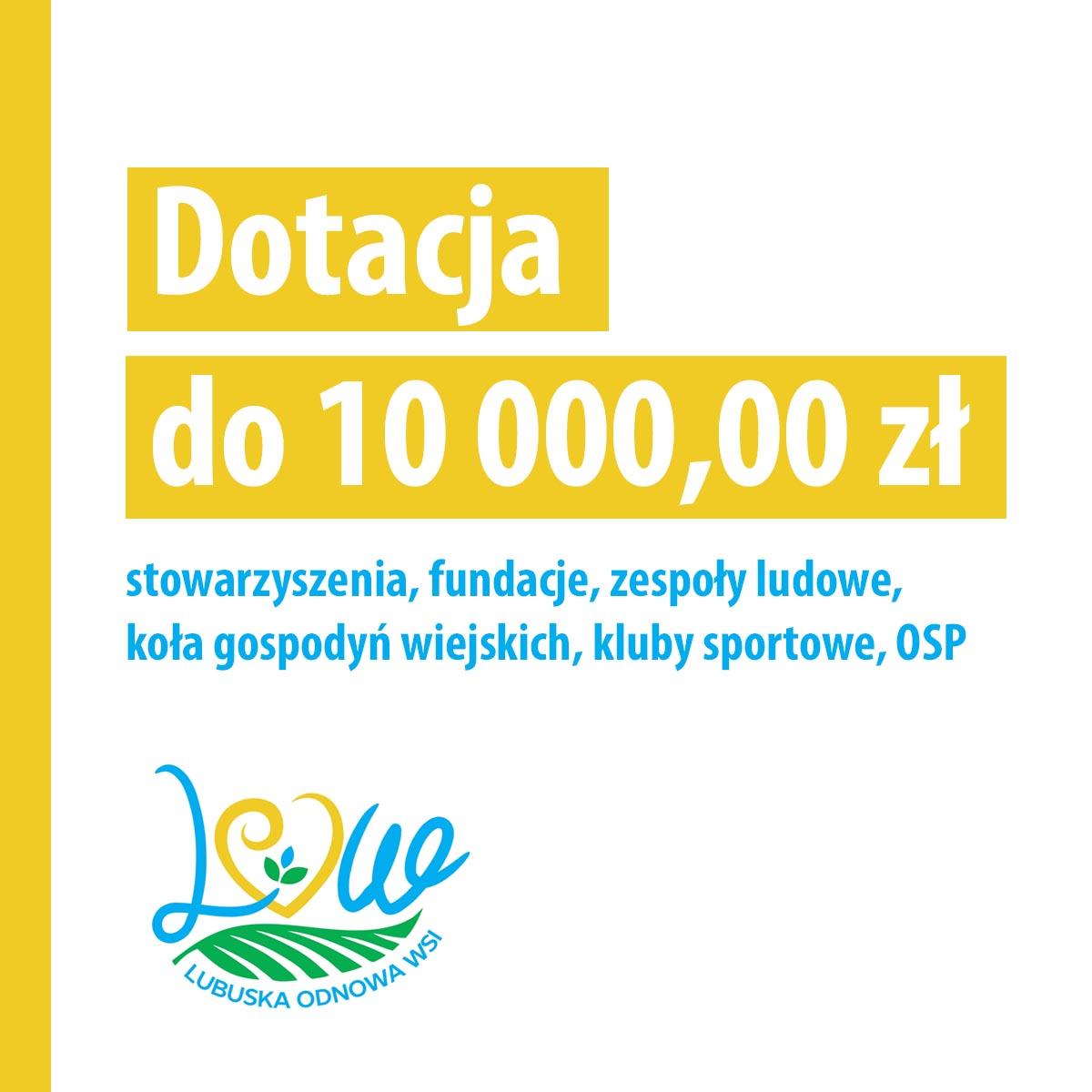 Dotacje dla NGO nawet do 10 tysięcy złotych