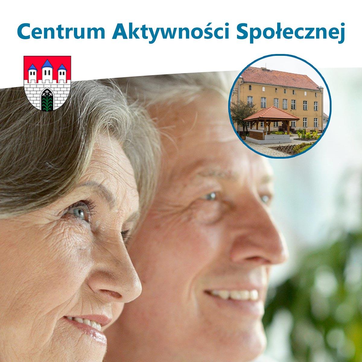 Centrum Aktywności Społecznej - uśmiechnięci seniorzy