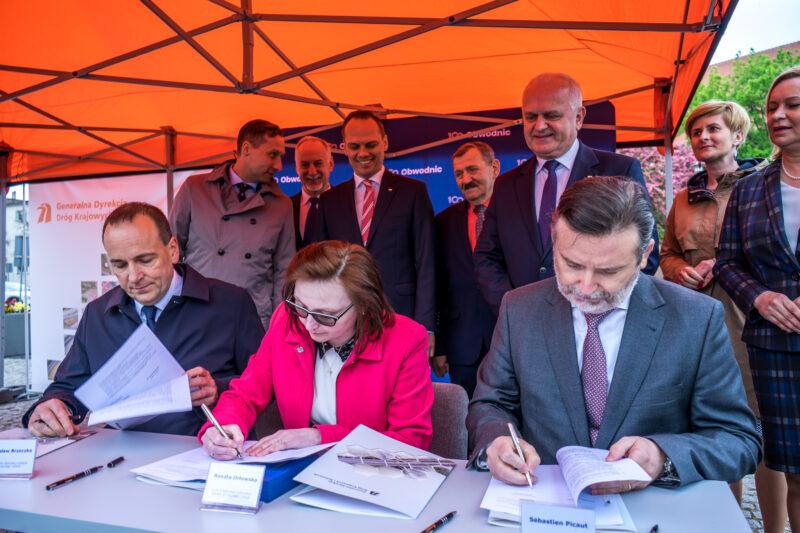 Podpisane umowy na budowę obwodnicy Strzelec Krajeńskich.