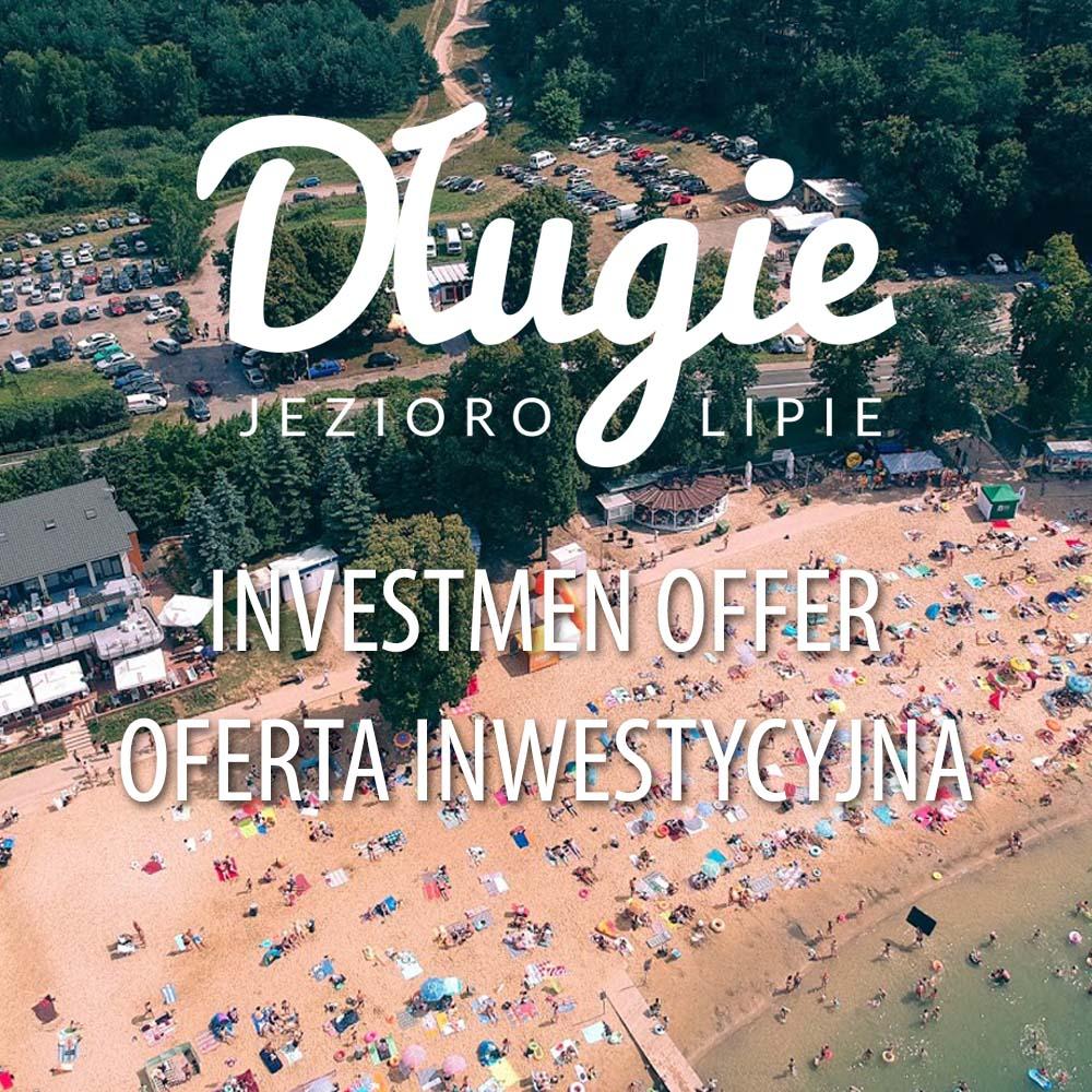 Oferta Inwestycyjna Długie naj jeziorem Lipie