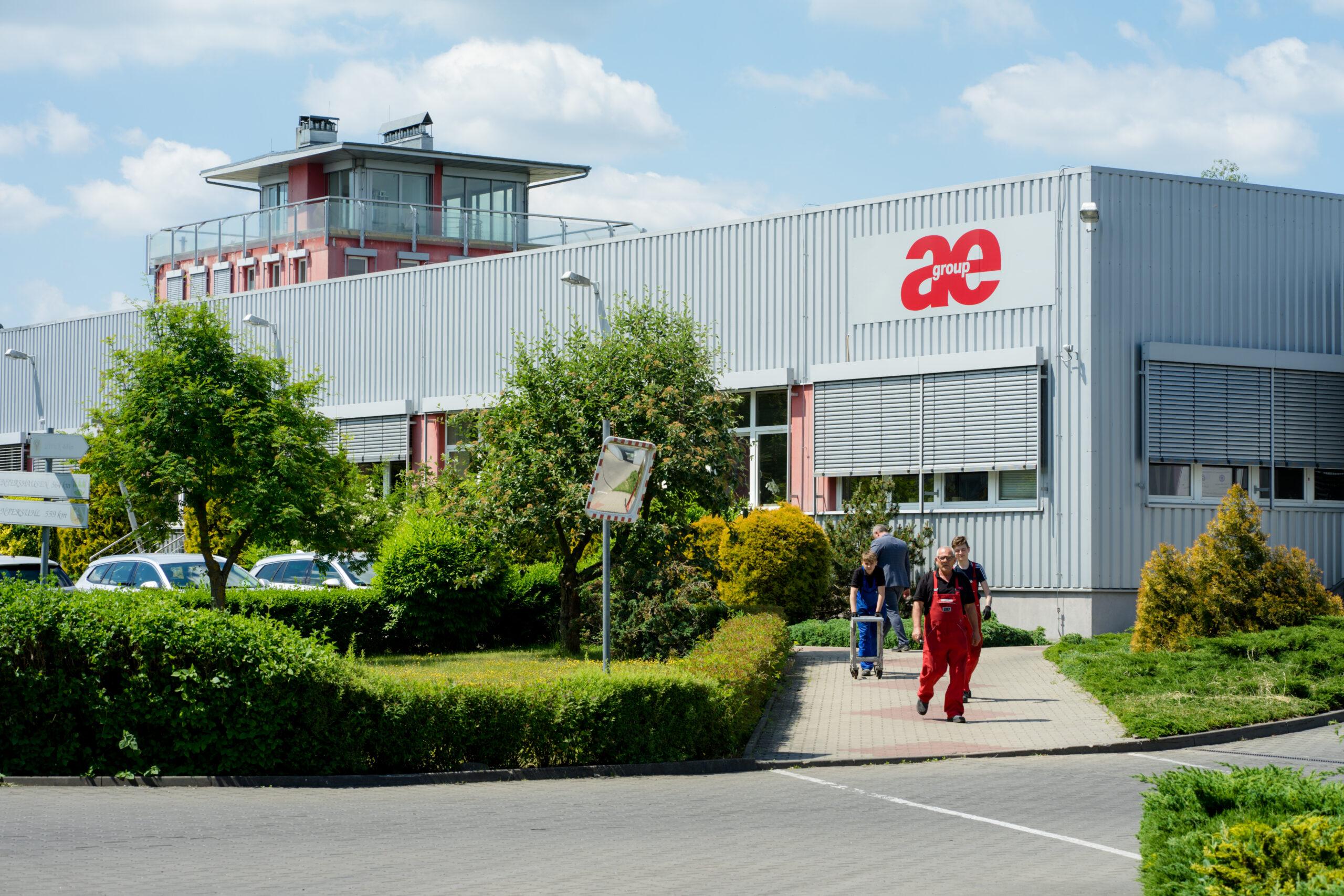 Siedziba firmy ae group w Strzelcach Krajeńskich