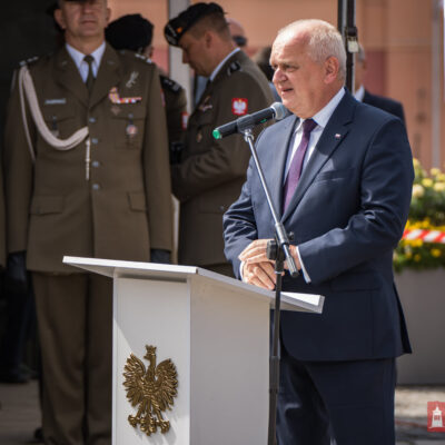 Władysław Dajczak w trakcie przemowy