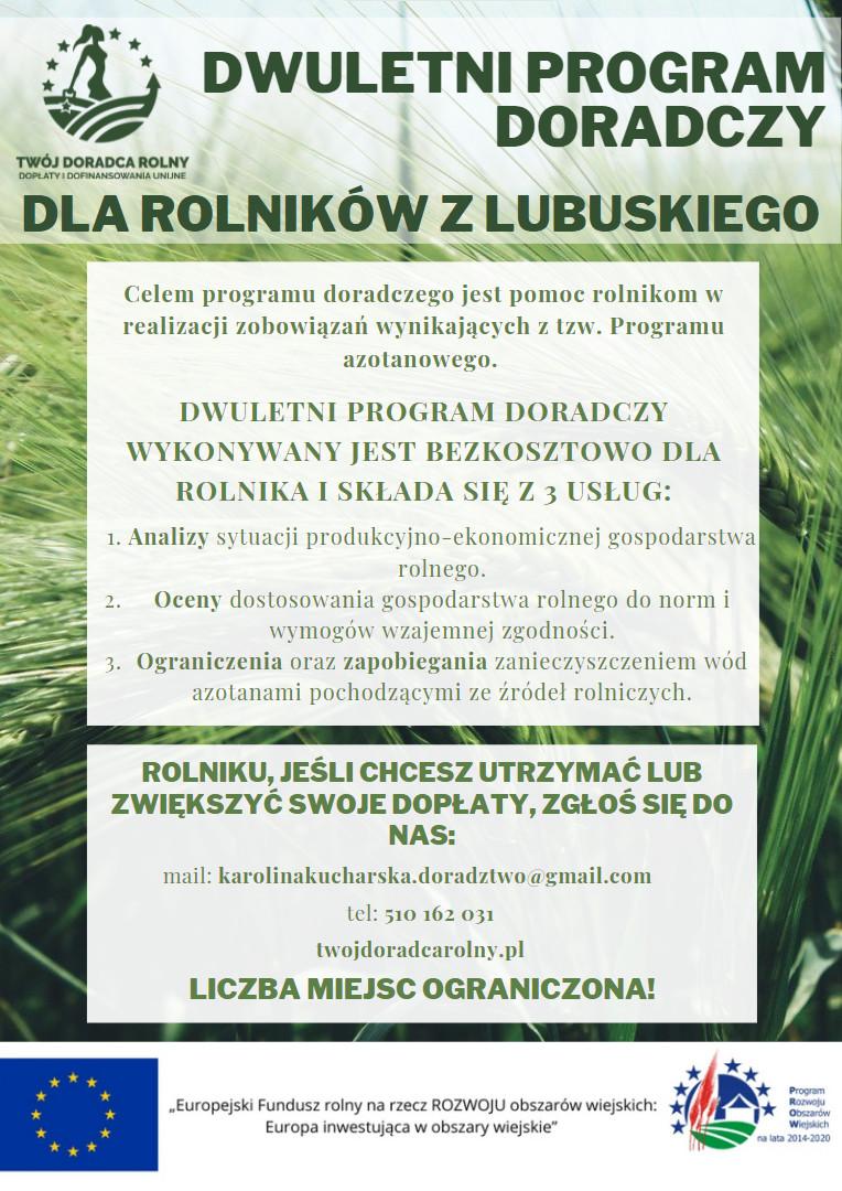Program doradczy dla rolniów